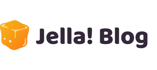 Jella! blog logo for homepage