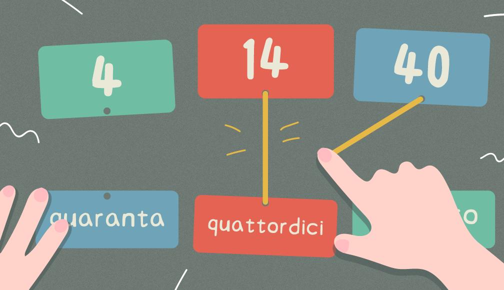 義大利文數字