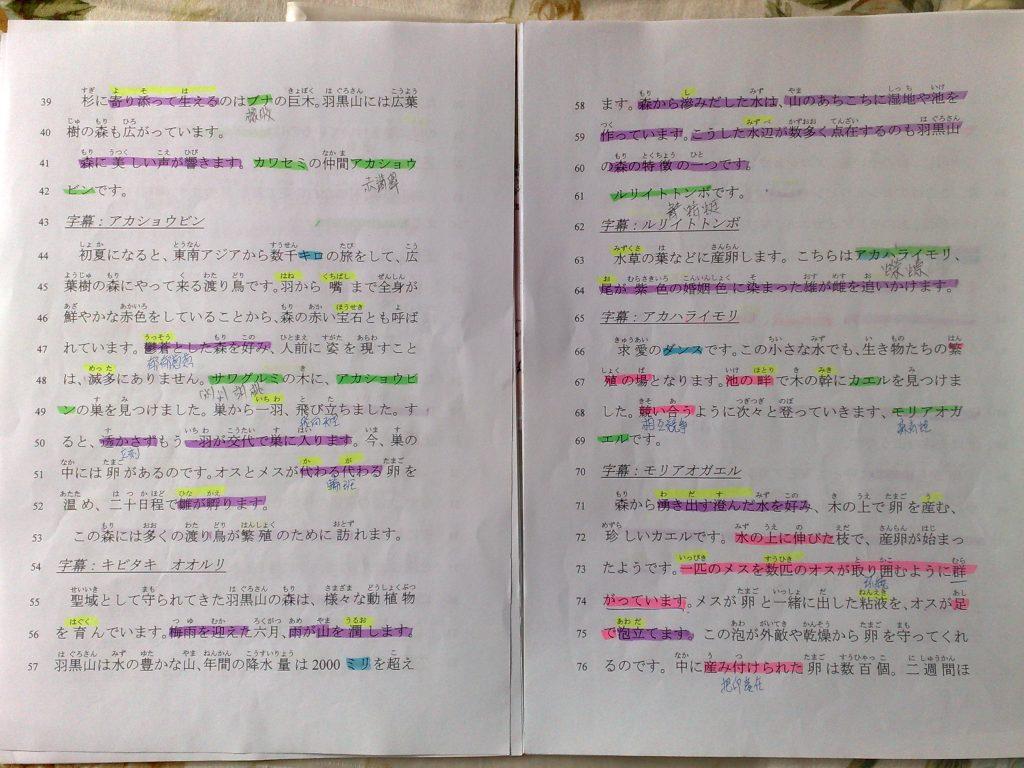 幸子老師的六支螢光筆筆記